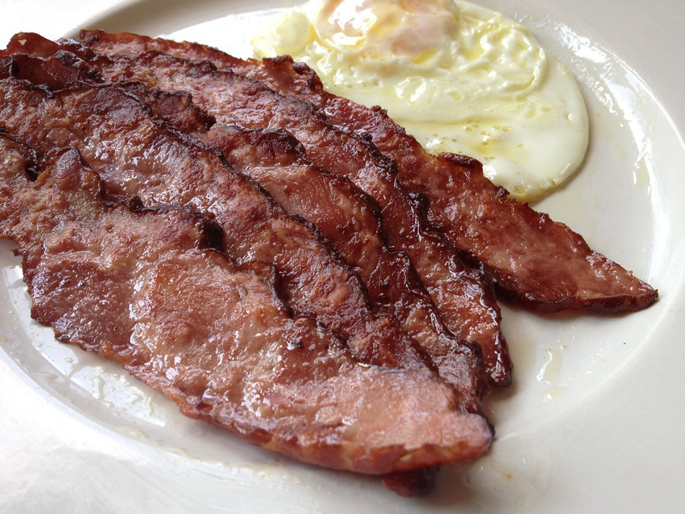 Strip District Meats » Applewood Smoked Duck Bacon